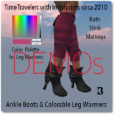 Time Travelers 2010 Ankle Boots & Leg Warmers DEMOs