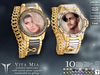 **RE** Vita Mia Couple Watches - Custom Photo - Transferable