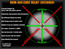 DGM-464 Advanced Chat Relay -Chat Extender-