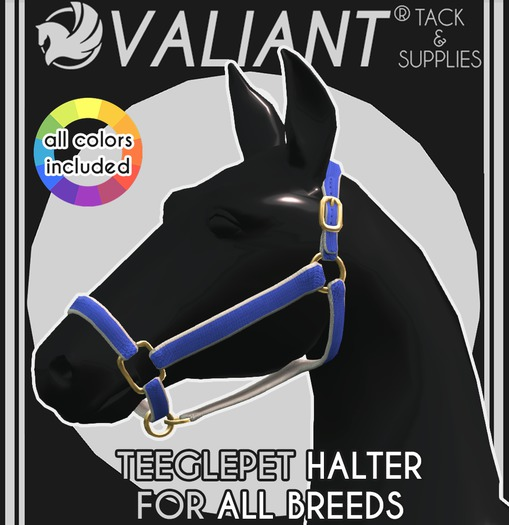 VALIANT - TEEGLEPET Halter [ALL BREEDS]