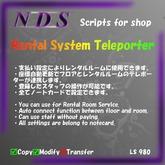[NDS]Rental System Teleporter