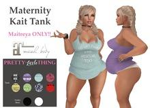 {PLT} Maternity Kait Tank w/HUD - (ADD ME)