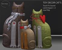 Toy Decor Cat's
