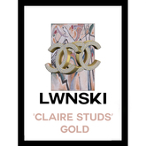 LWNSKI - claireStuds (GOLD)