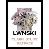 LWNSKI - claireStuds (FATPACK)