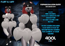 F&L - Poppable Balloon Outfit - Fatpack