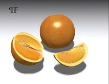 Orange Fruit Set 001