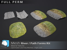 "[Prim 3D] - River / Path Forms Kit ""FULL PERM""*"