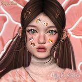 .SugarBun. Fluffy Face Stickers