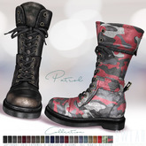 L&B - Mens - Combat Boots - Patrol Leather