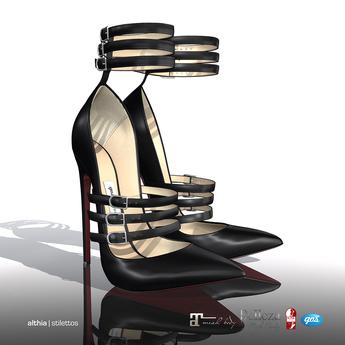 [Gos] Althia Stilettos - Black