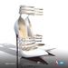 [Gos] Althia Stilettos - White