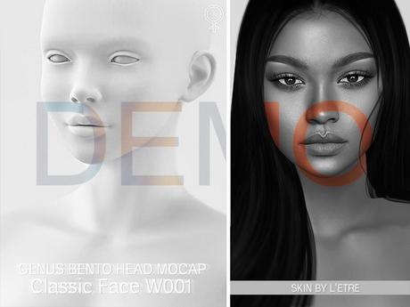 DEMO GENUS Project - Genus Head - Classic Face W001 - v1.6