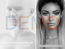 DEMO GENUS Project - Genus Head - Strong Face W001 - v1.6