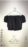 [sYs] HAVANA shirt (fitted & body mesh) - black
