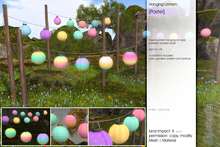 Sway's [Pastel] Hanging Lantern