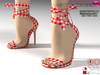 Dae, Obj, Fbx, And Texture Files For Women's Summer Lace Up Sandals