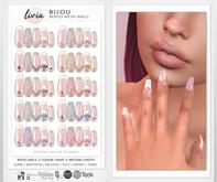 LIVIA Bijou Bento Mesh Nails [Maitreya / Slink / Belleza / eBody / Tonic / Tuty]