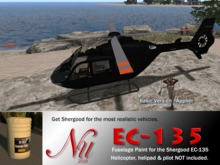 EC-135 Fuselage Paint by NU Stuff