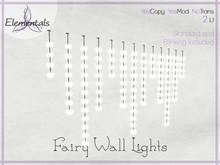 {Elementals} Fairy Wall Lights {Standard & Blinking}