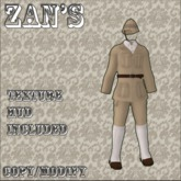 Zan's New Colony explorer set male