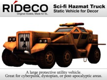 RiDECO - Sci-fi Hazmat Truck