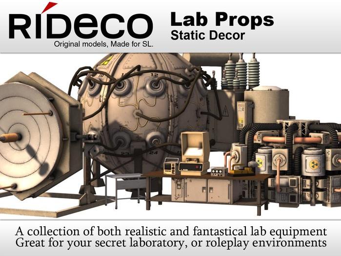RiDECO - Lab Props