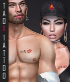 ..:: TaTToo & Applier Chest Love Kiss