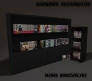 Kakurenbo: Manga bookshelf