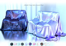 .:Abedul:. Fancy Satin Covered Chair