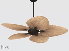hive // tropical palm ceiling fan