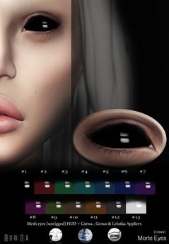 Morte Eyes pack by Madame Noir