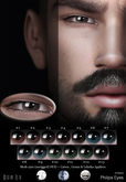 Philips Eyes pack by Madame Noir