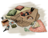 Hobo bed with cat and pigeons (PG) - Old World - Urban / Hobo furniture