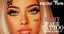 [Suicidal Thots] Baby Face Tattoo (rez & open)