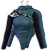 Eliya.K - Mila BodySUit - STEEL BLUE  { Maitreya Only }