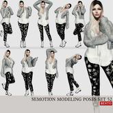 [Box] SEmotion Female Bento Modeling poses Set 52