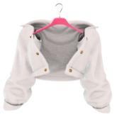 EVIE - Plush Me Warm Fur Jacket [White]