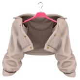 EVIE - Plush Me Warm Fur Jacket [Cream]