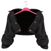 EVIE - Plush Me Warm Fur Jacket [Black]