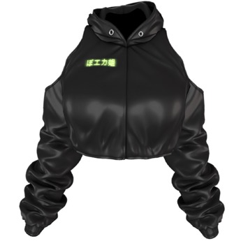 EVIE - Shoganai Jacket [Black]