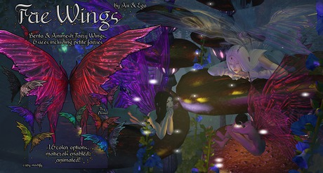 + Fae Wings DEMO + {egosumaii}