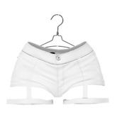 EVIE - Adrenaline Shorts - White