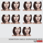 SEmotion Smile Expression HUD Set 3 [Catwa]