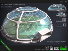 ~isil~ Glass Dome Set