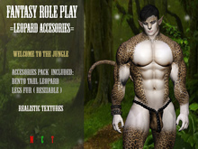 Fantasy Role Play - Leopard Mod (( ACCESORIES ))
