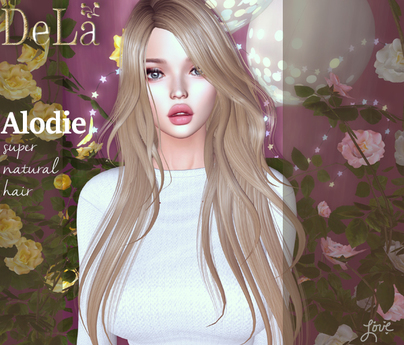"=DeLa*= Mesh Hair ""Alodie"" Demo"
