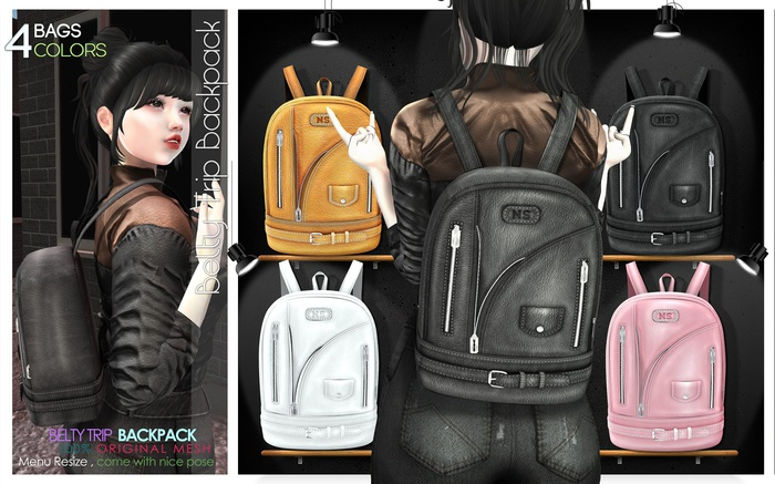NS::  Belty Trip Backpack