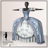 MdM - Grand Habit - Colonnade blue (Maitreya)