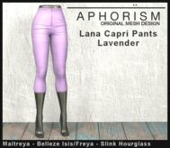 !APHORISM! Lana Capri Pants - Lavender